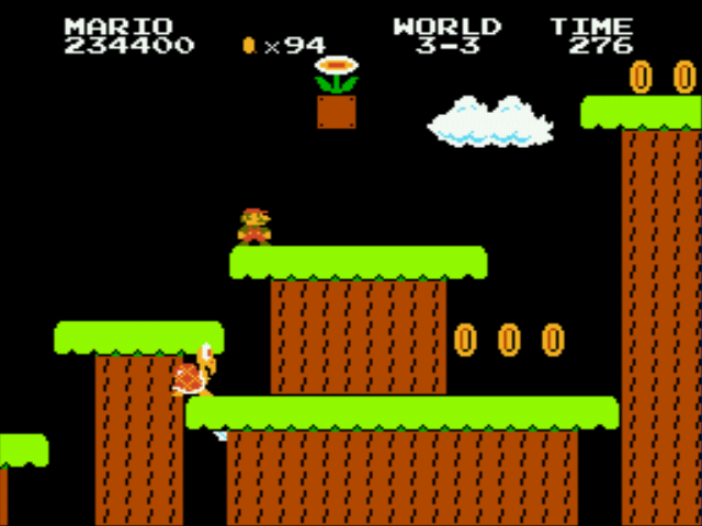 Super Mario Bros - Genesis - ........? - User Screenshot